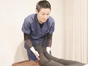 膝痛の施術写真
